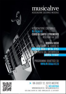 Musicalive Chitarra Rock e Metal style