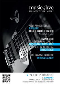 Musicalive Chitarra Rock e Metal style