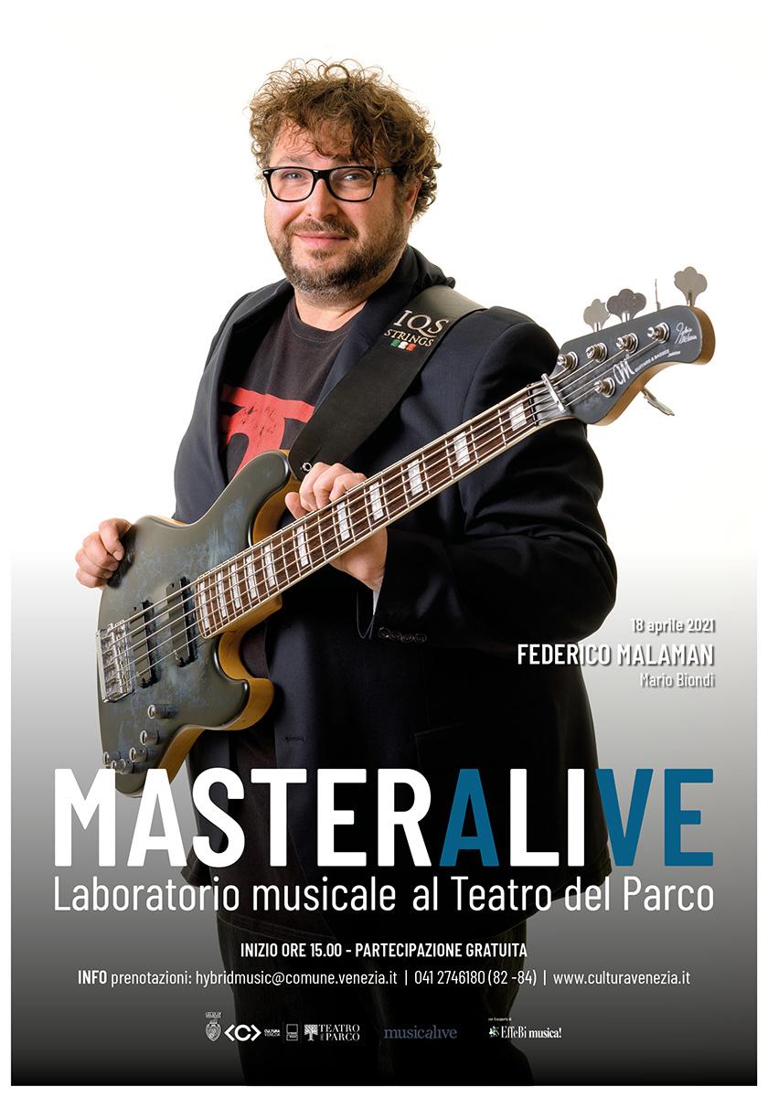 Musicalive | MasterAlive: Masterclass Federico Malaman