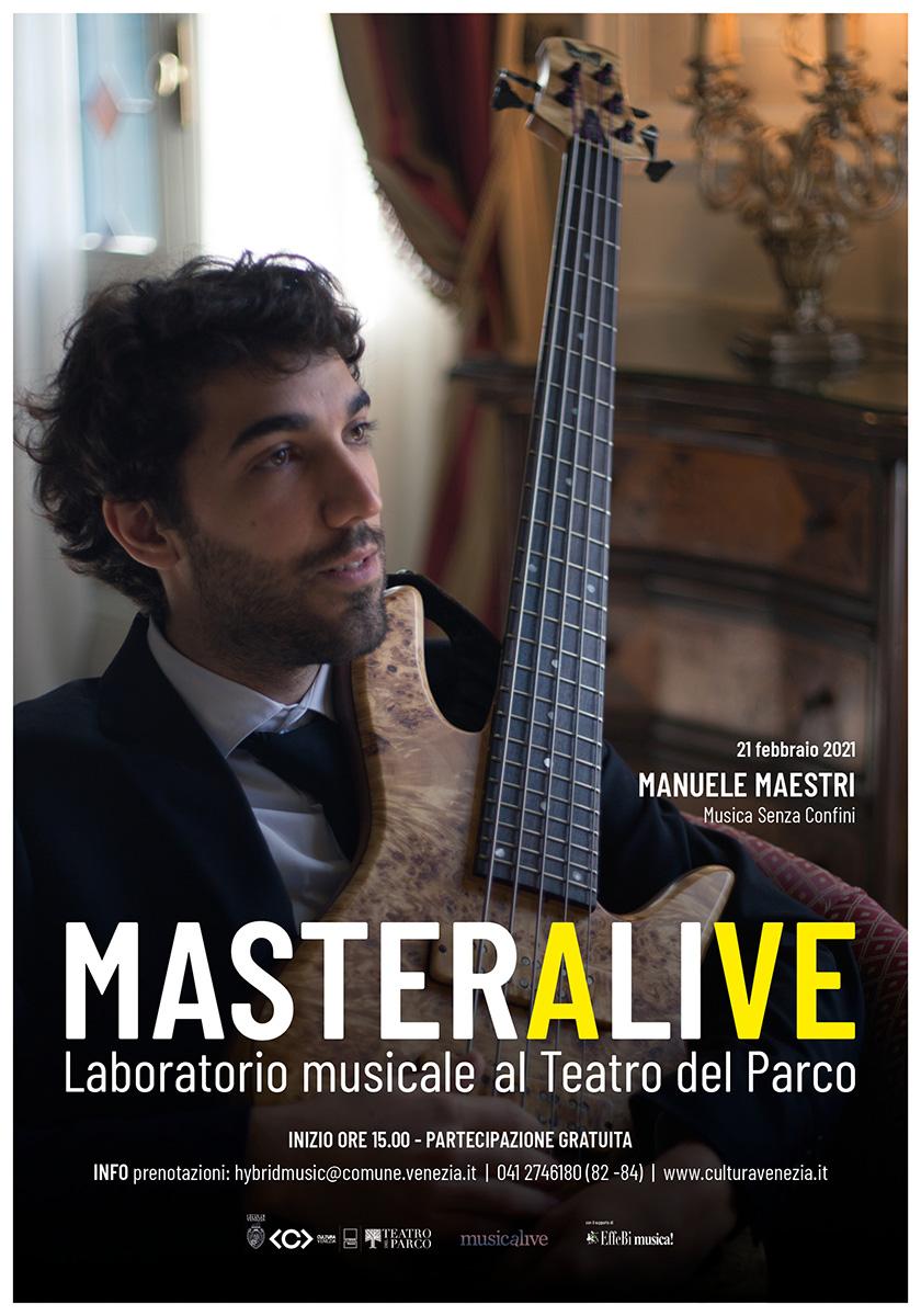 Musicalive | MasterAlive: Masterclass Manuele Maestri
