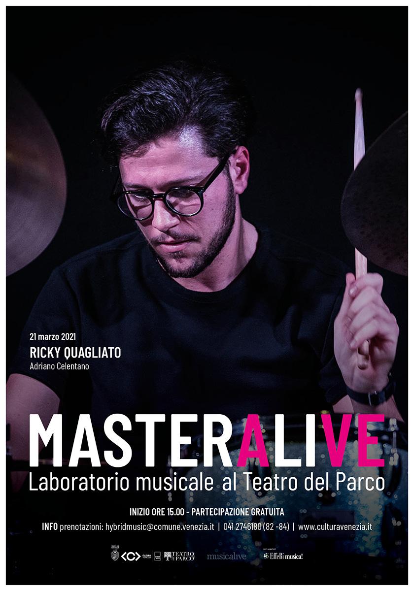 Musicalive | MasterAlive: Masterclass Ricky Quagliato